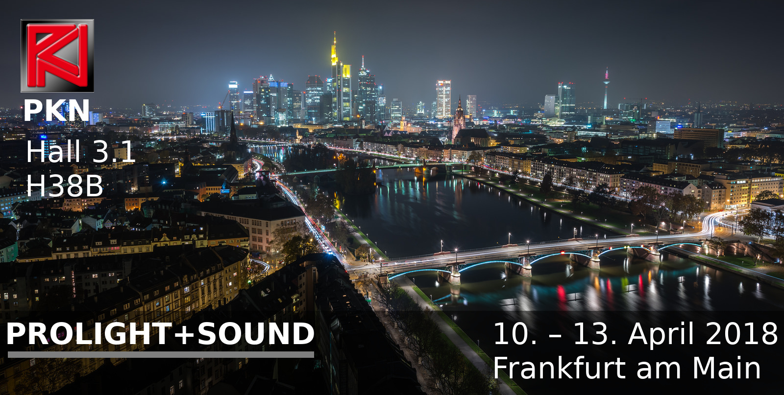 PROLIGHT+SOUND 2018 Messe Frankfurt